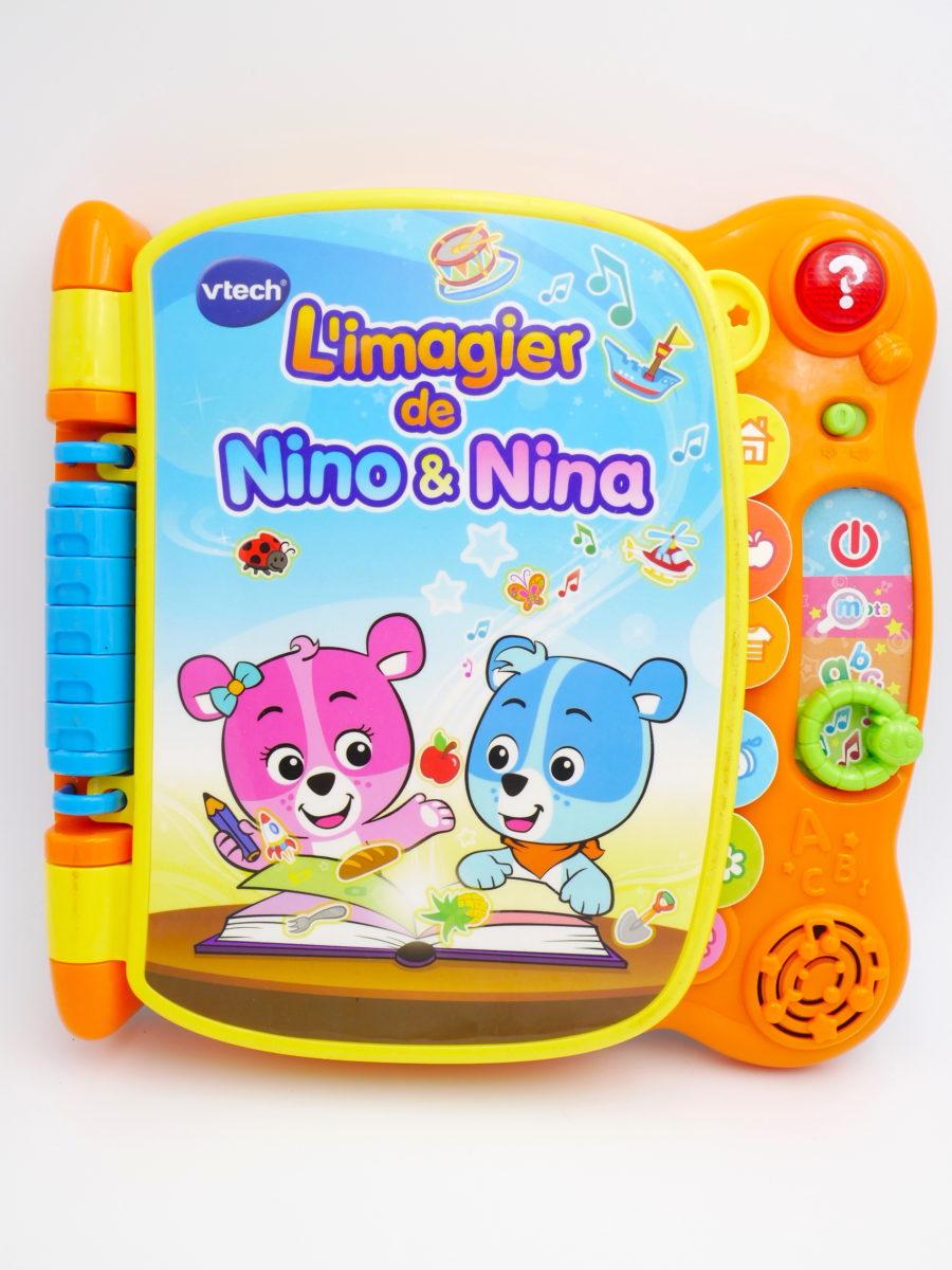 Livre Imagier Sonore Nino Et Nina Vtech