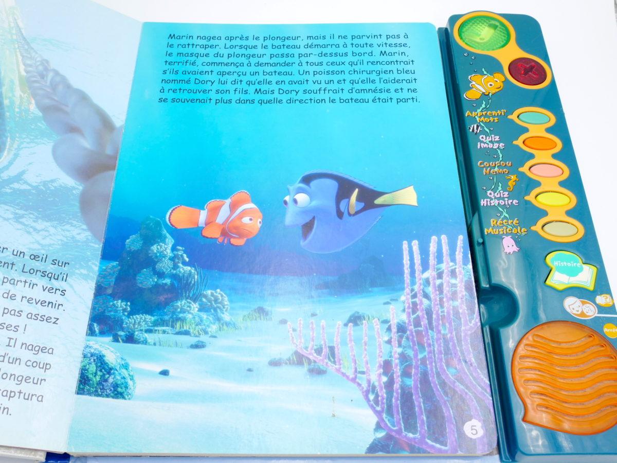 Magi Livre Interactif Le Monde De Nemo Vtech