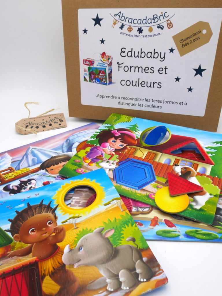 Edubaby couleurs et formes – CLEMENTONi