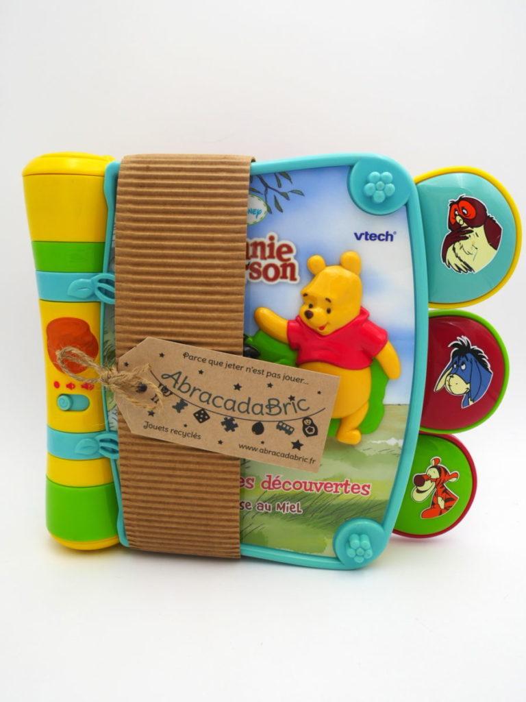 Livre des découvertes sonores Winnie l'ourson – VTECH