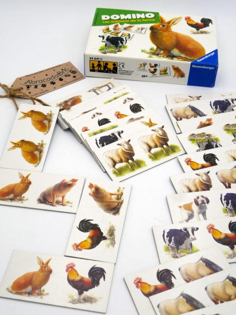 Domino les animaux de la ferme – RAVENSBURGER