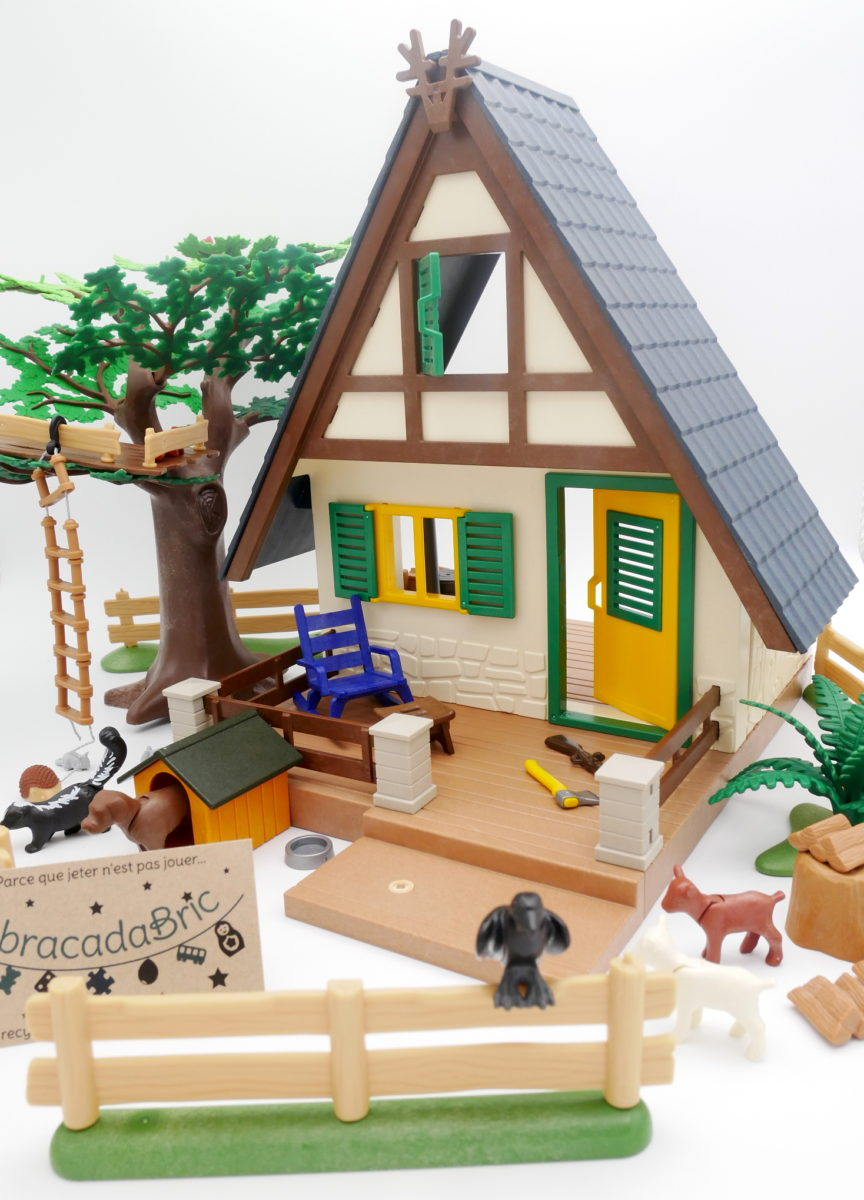 La Maison Forestiere Playmobil Abracadabric