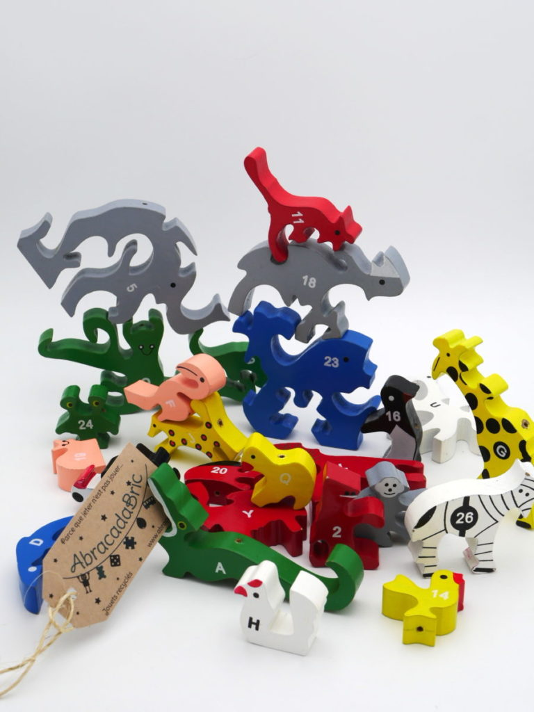 Puzzle animaux en bois – SMALL FOOT