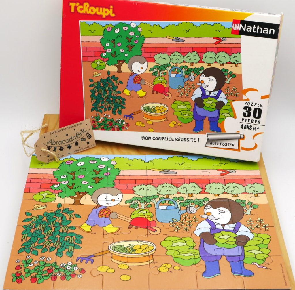 Puzzle T'choupi 30p – NATHAN