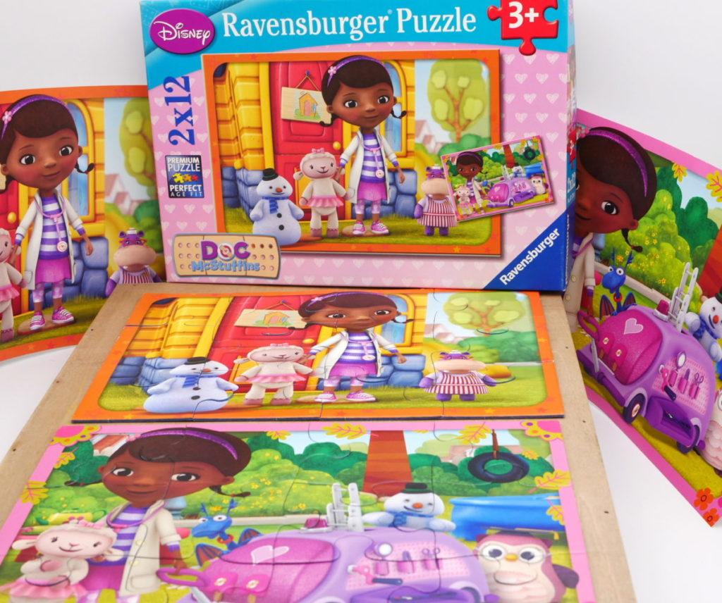 Puzzle docteur la peluche 2x12P – RAVENSBURGER