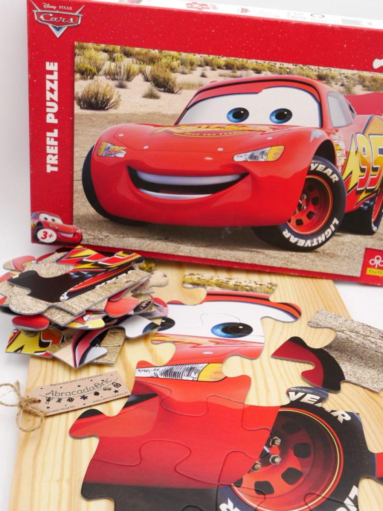 Puzzle cars Flash Mac Queen 24p – TREFL