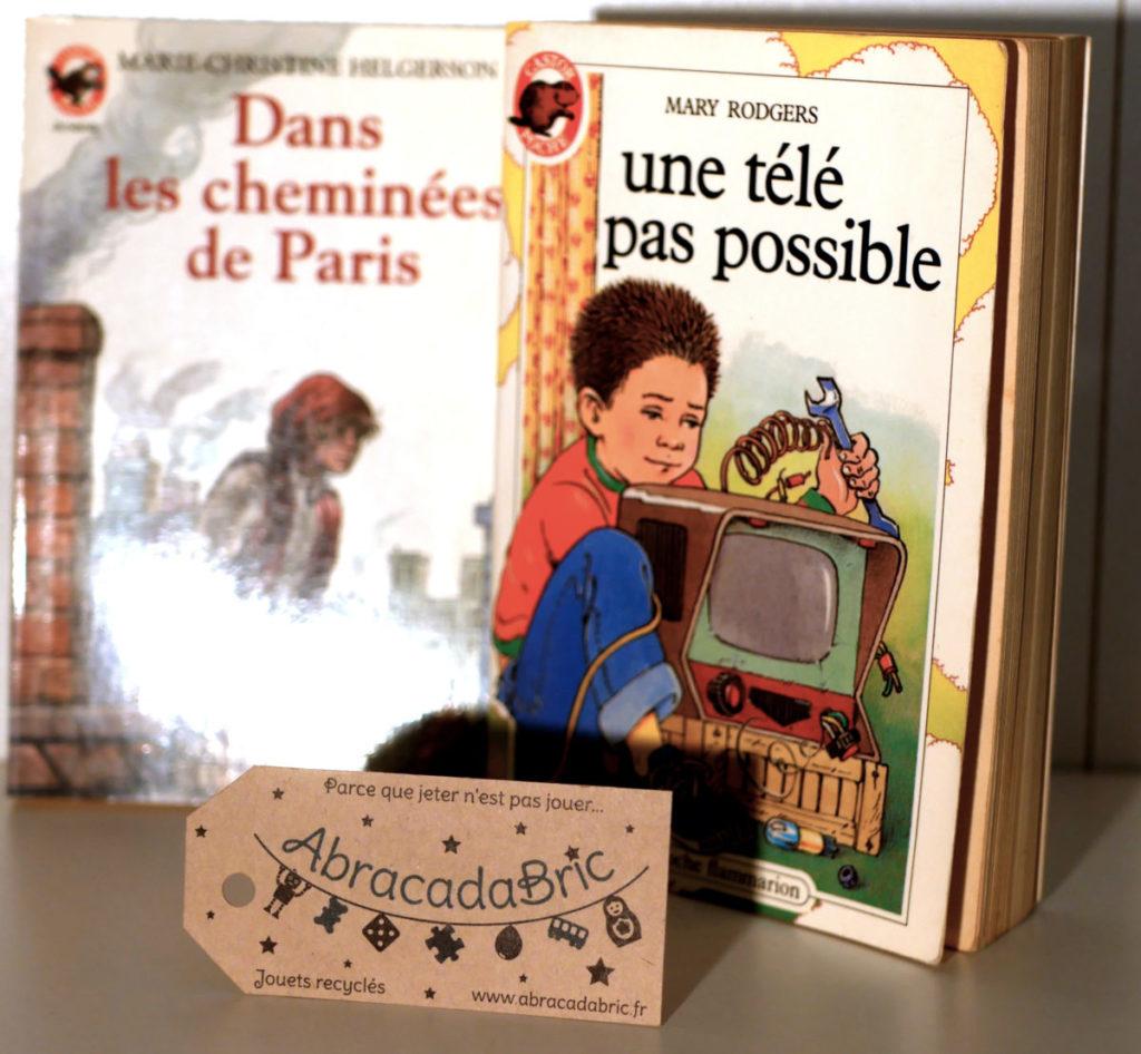 LOT «une télé pas possible» et «dans les cheminées de Paris» – CASTOR