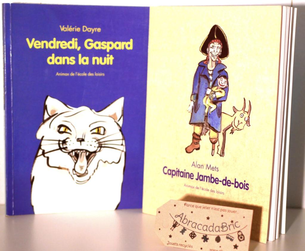 """Lot """"capitaine jambe de bois» et «vendredi, Gaspard dans la nuit» – ECOLE des LOiSiRS"""