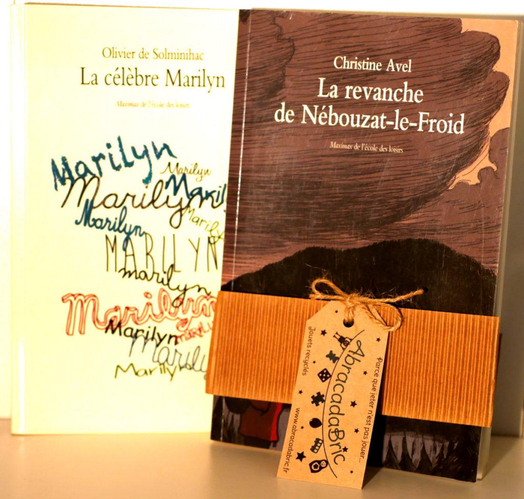 """Lot """"la revanche de Nébouzat-le-froid» et «la célèbre Marylin» – ECOLE des LOiSiRS"""