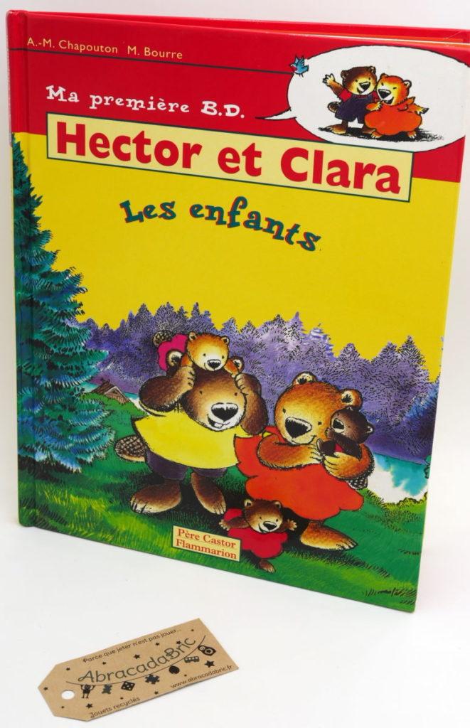 """BD Hector et Clara """"les enfants"""" – FLAMMARION"""