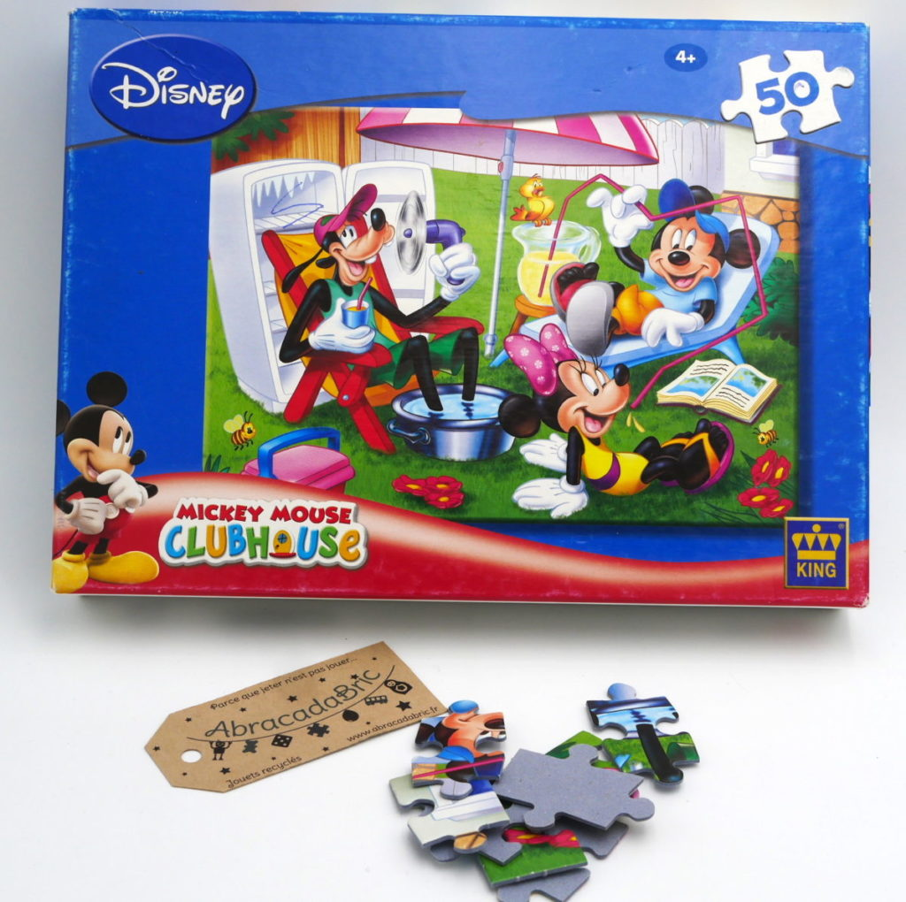 """Puzzle """"mickey en vacances"""" 50p – KiNG"""
