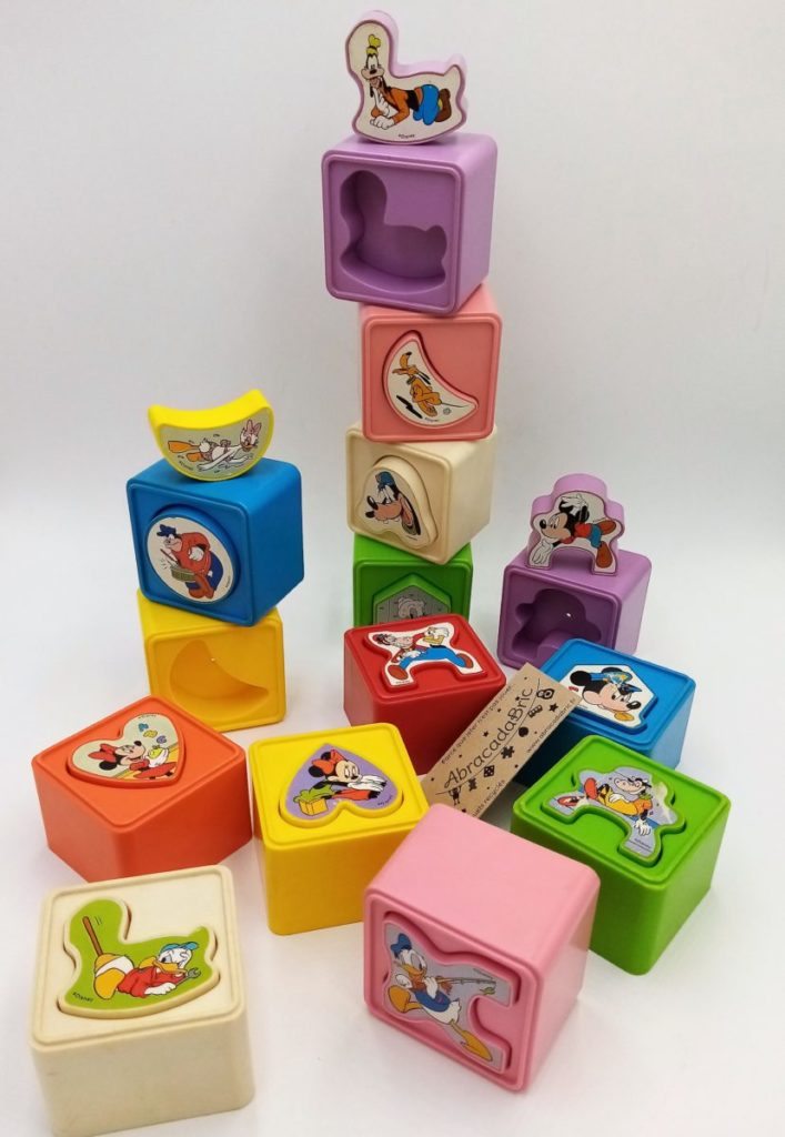 Cubes vintage disney – PLAYSKOOL